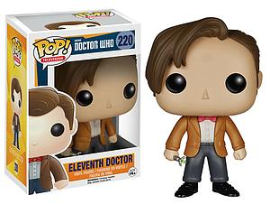 Pop! Television Doctor Who Vinyl Figure Eleventh Doctor #220 (Vaulted)