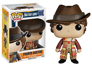 Pop! Television Doctor Who Vinyl Figure Fourth Doctor #222 (Vaulted)