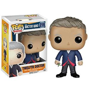 Pop! Television Doctor Who Vinyl Figure Twelfth Doctor #219 (Retired)