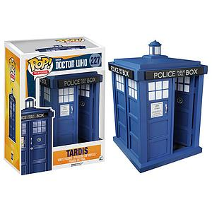 "Pop! Television Doctor Who Vinyl Figure 6"" Tardis #227"