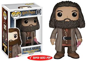 "Pop! Harry Potter Vinyl Figure 6"" Rubeus Hagrid #07"