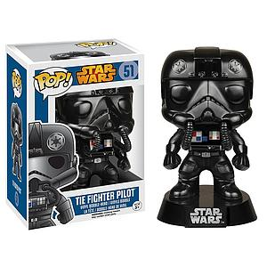 Pop! Star Wars Vinyl Bobble-Head Tie-Fighter Pilot #51 (Vaulted)