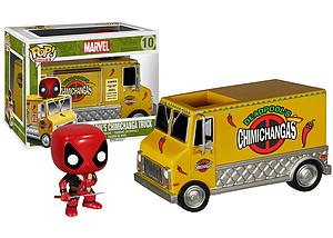 Pop! Rides Marvel Vinyl Bobble-Head Deadpool's Chimichanga Truck #10 (Retired)