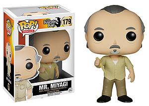 Pop! Movies The Karate Kid Vinyl Figure Mr. Miyagi #179 (Retired)