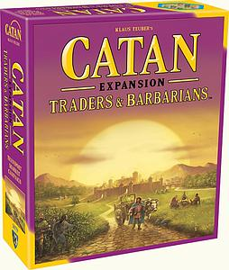 Catan: Traders & Barbarians Expansion (Fifth Edition)