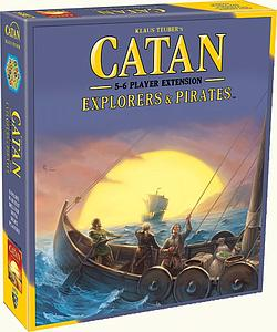 Catan: Explorers & Pirates 5-6 Player Extension (Fifth Edition)