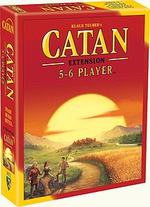 Catan 5-6 Player Extension (5th Edition)