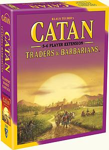 Catan: Traders & Barbarians 5-6 Player Extension (5th Edition)