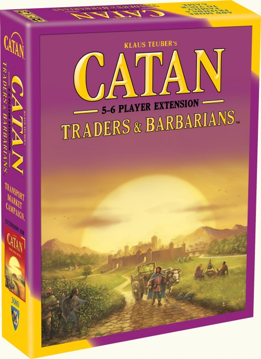 Catan: Traders & Barbarians 5-6 Player Extension (Fifth Edition)