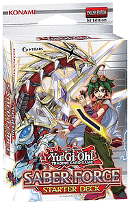 Yugioh Trading Card Game Arc-V: Starter Deck Saber Force