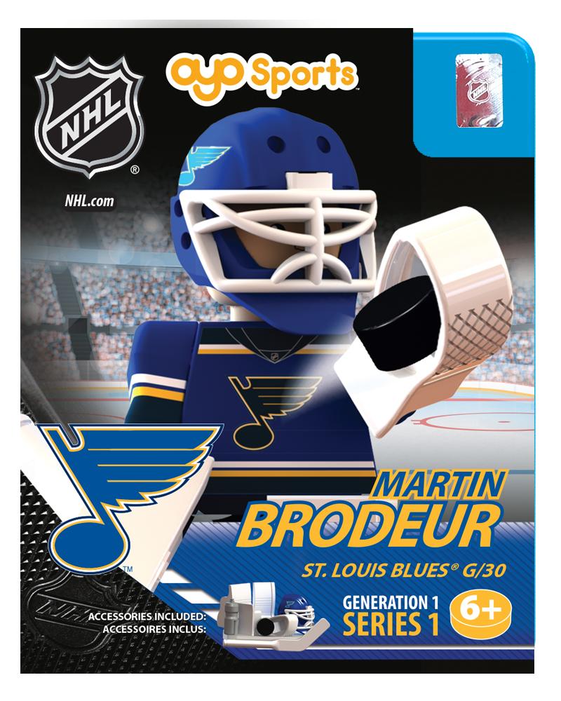 Nhl Hockey Minifigures Martin Brodeur St Louis Blues Www