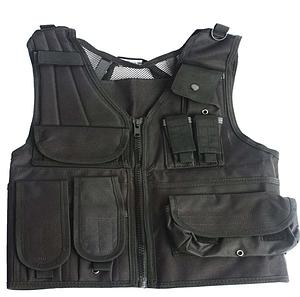 Swiss Arms Airsoft Tactical Vest: Black