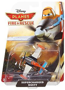 Disney Planes Fire and Rescue Die-Cast Vehicle: Supercharged Dusty