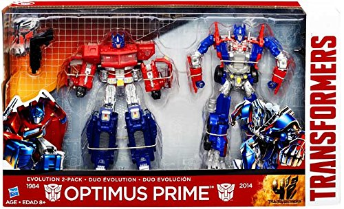 Transformers Age of Extinction 2 Pack Evolution Optimus Prime