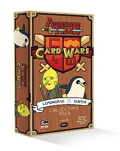 Adventure Time Card Wars: Lemongrab vs Gunter