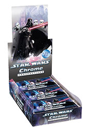 Topps 2015 Star Wars Chrome Perspectives Trading Cards Booster Box (24 Packs)