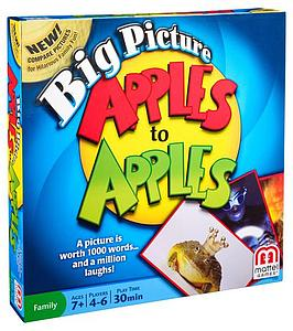 Big Picture Apples to Apples