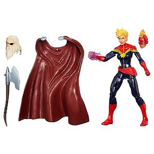 "Marvel Legends Infinite Build-a-figure Odin (The Allfather) 6"": Captain Marvel (Carol Danvers) Maidens of Might"