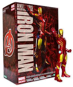 Avengers Marvel Now! 1/10 Scale ArtFX+ Statue: Iron Man Red and Gold