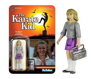 ReAction Figures Karate Kid Ali Mills