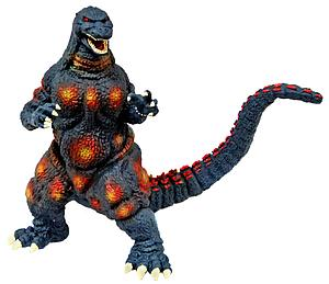 "12"" Burning Godzilla Vinyl Figure Bank"