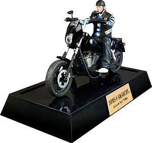 Sons of Anarchy Statue Jackson Jax Teller with Motorcycle