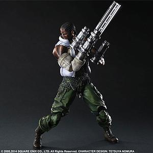 Square Enix Final Fantasy VII Advent Children Play Arts Kai: No. 6 Barret Wallace