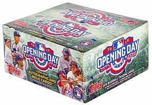 2015 MLB Opening Day Baseball Hobby Box