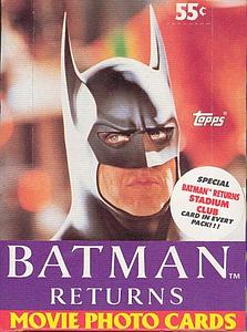 Batman Returns: The Movie Wax Booster Box (1992)
