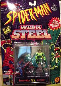 ToyBiz Marvel Comics Spider-Man Web of Steel Vintage: Spider-Man vs. Vulture