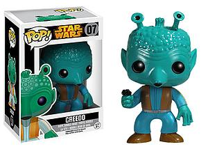 Pop! Star Wars Vinyl Bobble-Head Greedo #07 (Vault Version)