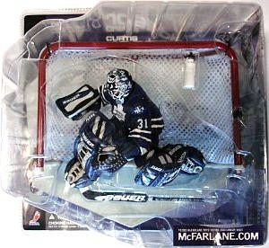NHL Sportspicks Series 1 Curtis Joseph (Toronto Maple Leafs) Blue Jersey Chase