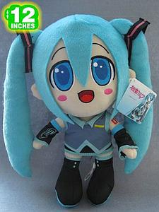 "Plush Toy Vocaloid 12"" Miku"