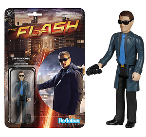 ReAction Figures The Flash TV Show Captain Cold (Vaulted)