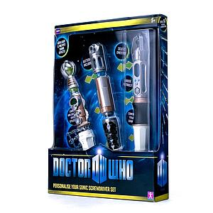 Doctor Who 1:1 Replica Dr. Who Build Your Own Sonic Screwdriver
