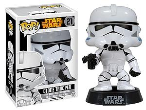 Pop! Star Wars Vinyl Bobble-Head Clone Trooper #21 (Vault Version)