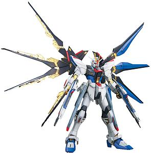 Gundam Master Grade Gundam Seed 1/100 Scale Model Kit: ZGMF-X20A Strike Freedom Gundam Full Burst Mode