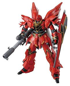 Gundam Master Grade 1/100 Scale Model Kit: MSN-06S Sinanju