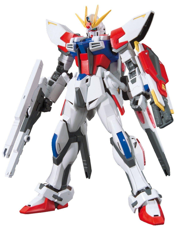 Gundam High Grade Build Fighters 1/144 Scale Model Kit: #009 Star Build  Strike Gundam Plavsky Wing