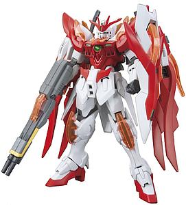Gundam High Grade Build Fighters 1/144 Scale Model Kit: #033 Wing Gundam Zero Honoo