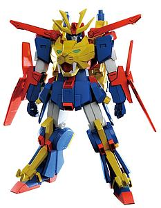 Gundam High Grade Build Fighters 1/144 Scale Model Kit: #038 Gundam Tryon 3