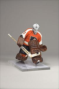 NHL Sportspicks Series 19 Bernie Parent (Philadelphia Flyers) Orange Jersey