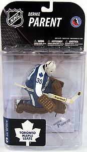 NHL Sportspicks Series 19 Bernie Parent (Toronto Maple Leafs) Blue Jersey Variant