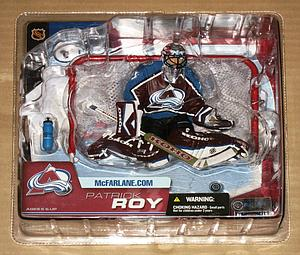 McFarlane NHL Sportspicks Series 6 Patrick Roy (Colorado Avalanche) Maroon Jersey Variant