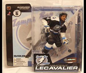 NHL Sportspicks Series 6 Vincent Lecavalier (Tampa Bay Lightning) Black Jersey Variant