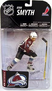 NHL Sportspicks Series 19 Ryan Smyth (Colorado Avalanche) White Jersey Variant