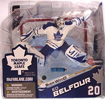 the latest 7592a f8d7b NHL Sportspicks Series 8 Ed Belfour (Toronto Maple Leafs) White Jersey