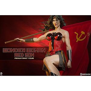 Red Son Wonder Woman Premium Format