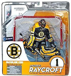 NHL Sportspicks Series 9 Andrew Raycroft (Boston Bruins) Black Jersey