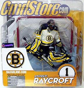 NHL Sportspicks Series 9 Andrew Raycroft (Boston Bruins) White Jersey Variant